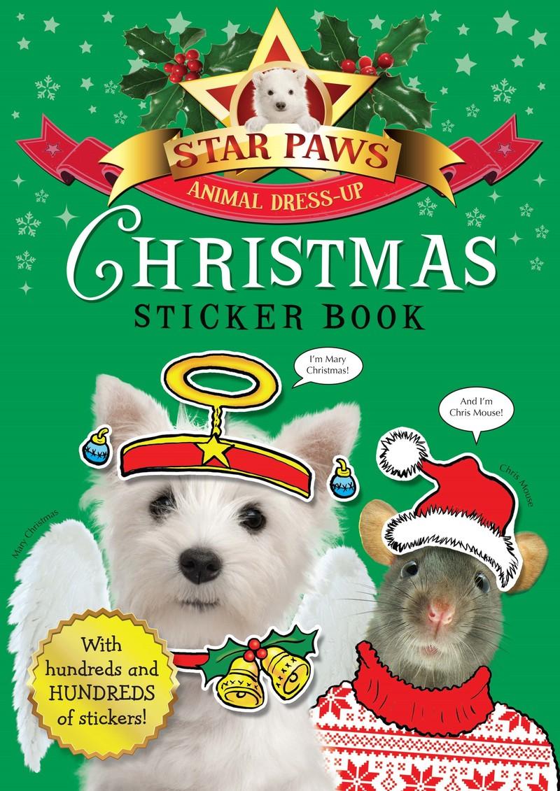 Christmas Sticker Book: Star Paws - Jacket