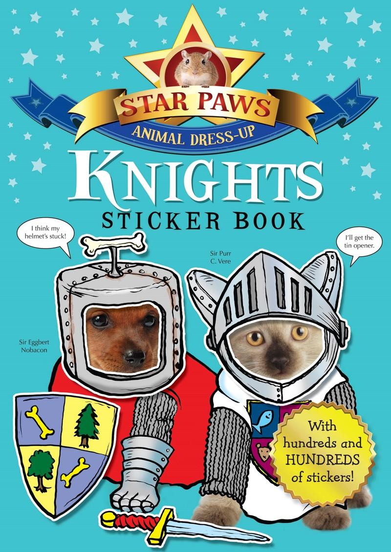 Knights Sticker Book: Star Paws - Jacket