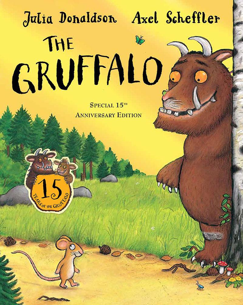 The Gruffalo 15th anniversary edition - Jacket