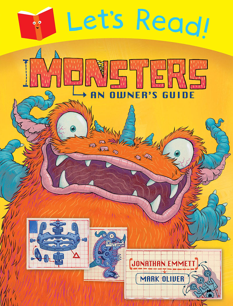 Let's Read! Monsters: An Owner's Guide - Jacket