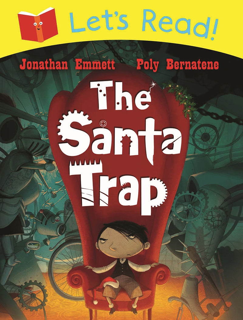 Let's Read! The Santa Trap - Jacket
