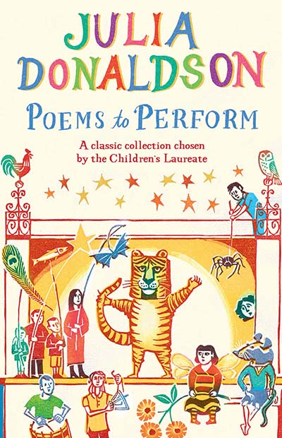 Poems to Perform - Jacket