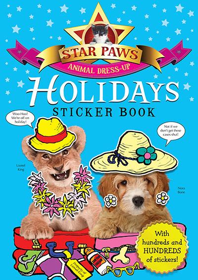 Holidays Sticker Book: Star Paws - Jacket
