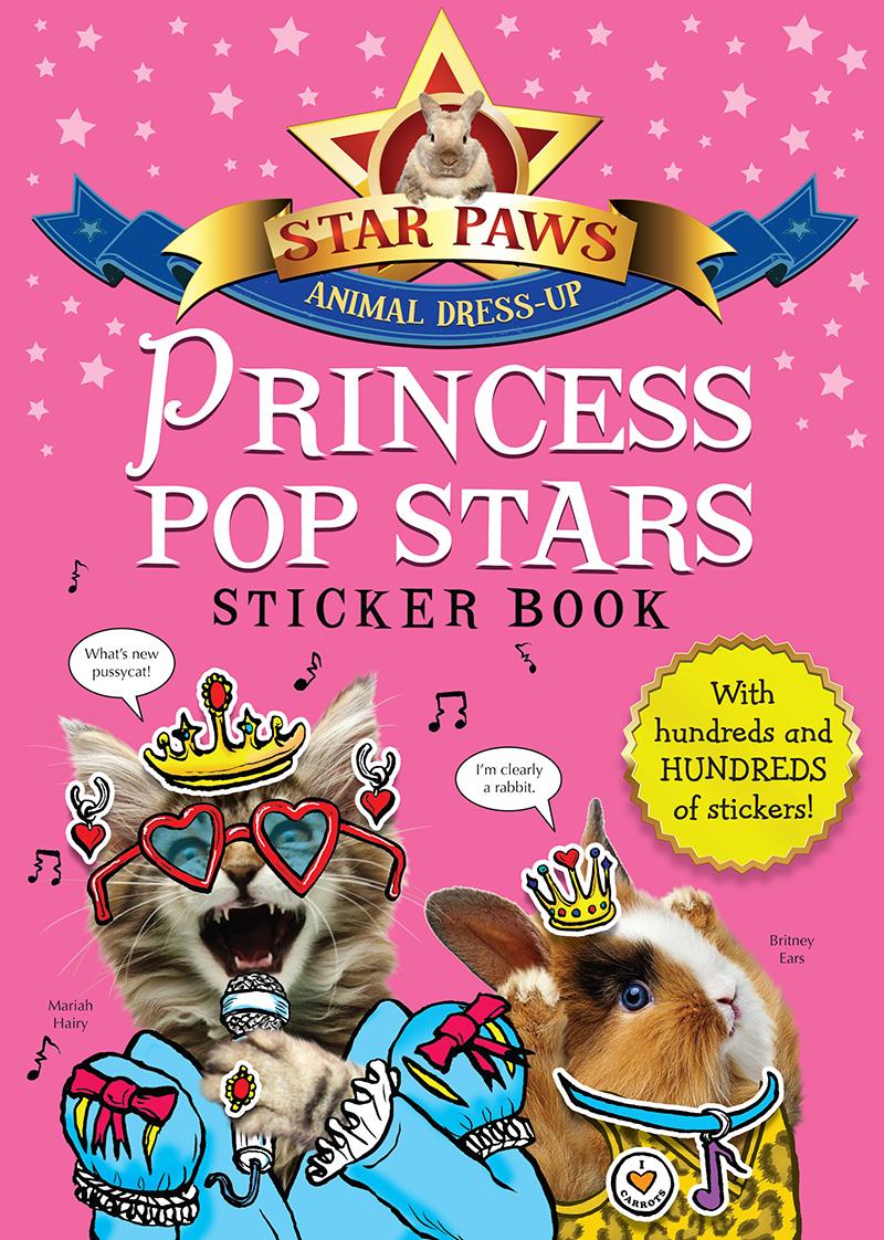 Princess Pop Stars Sticker Book: Star Paws - Jacket