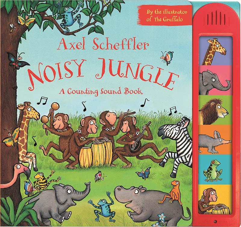 Axel Scheffler Noisy Jungle - Jacket
