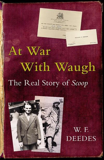 At War With Waugh - Jacket