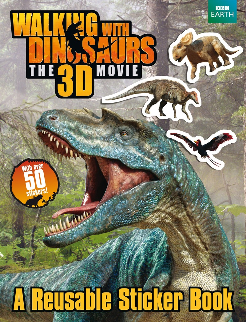 Walking with Dinosaurs Sticker Book - Jacket