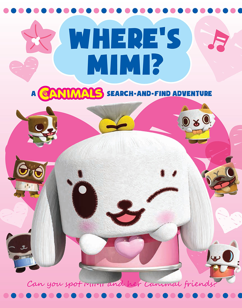 Where's Mimi: Canimals Search and Find - Jacket