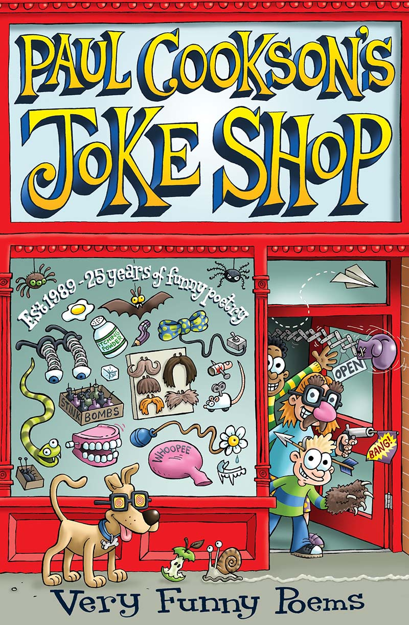 Paul Cookson's Joke Shop - Jacket