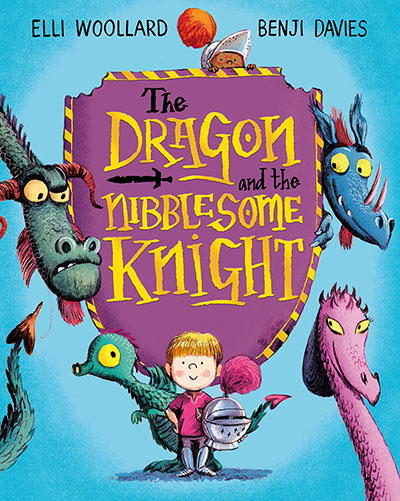 The Dragon and the Nibblesome Knight - Jacket