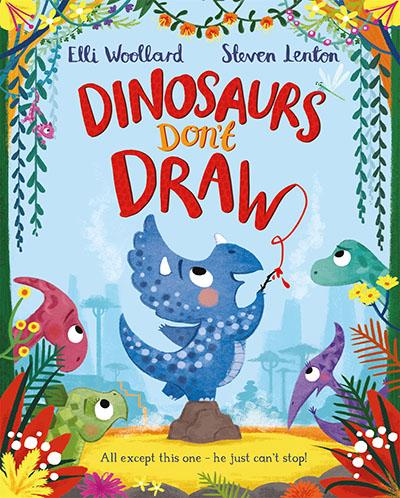 Dinosaurs Don't Draw - Jacket