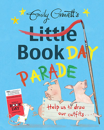 Emily Gravett's Little Book Day Parade - Jacket