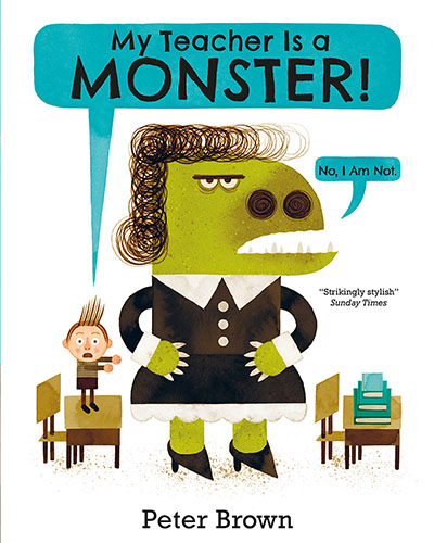 My Teacher is a Monster! (No, I am not) - Jacket