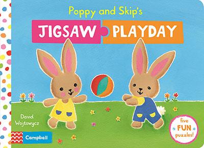 Poppy and Skip's Jigsaw Playday - Jacket