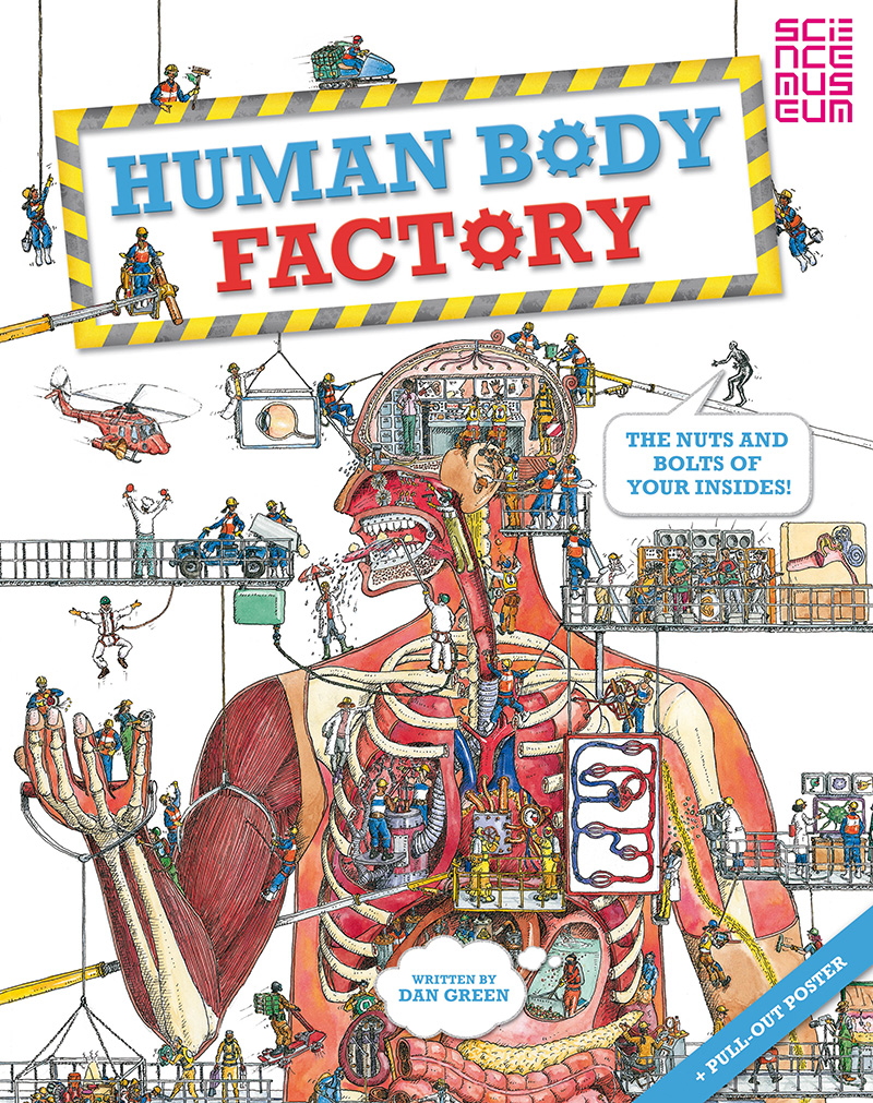 The Human Body Factory - Jacket