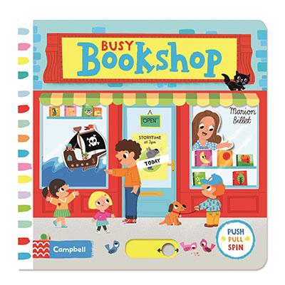 Busy Bookshop - Jacket