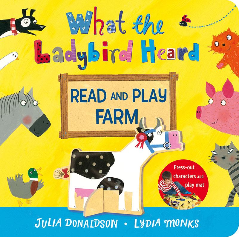 What the Ladybird Heard Read and Play Farm - Jacket