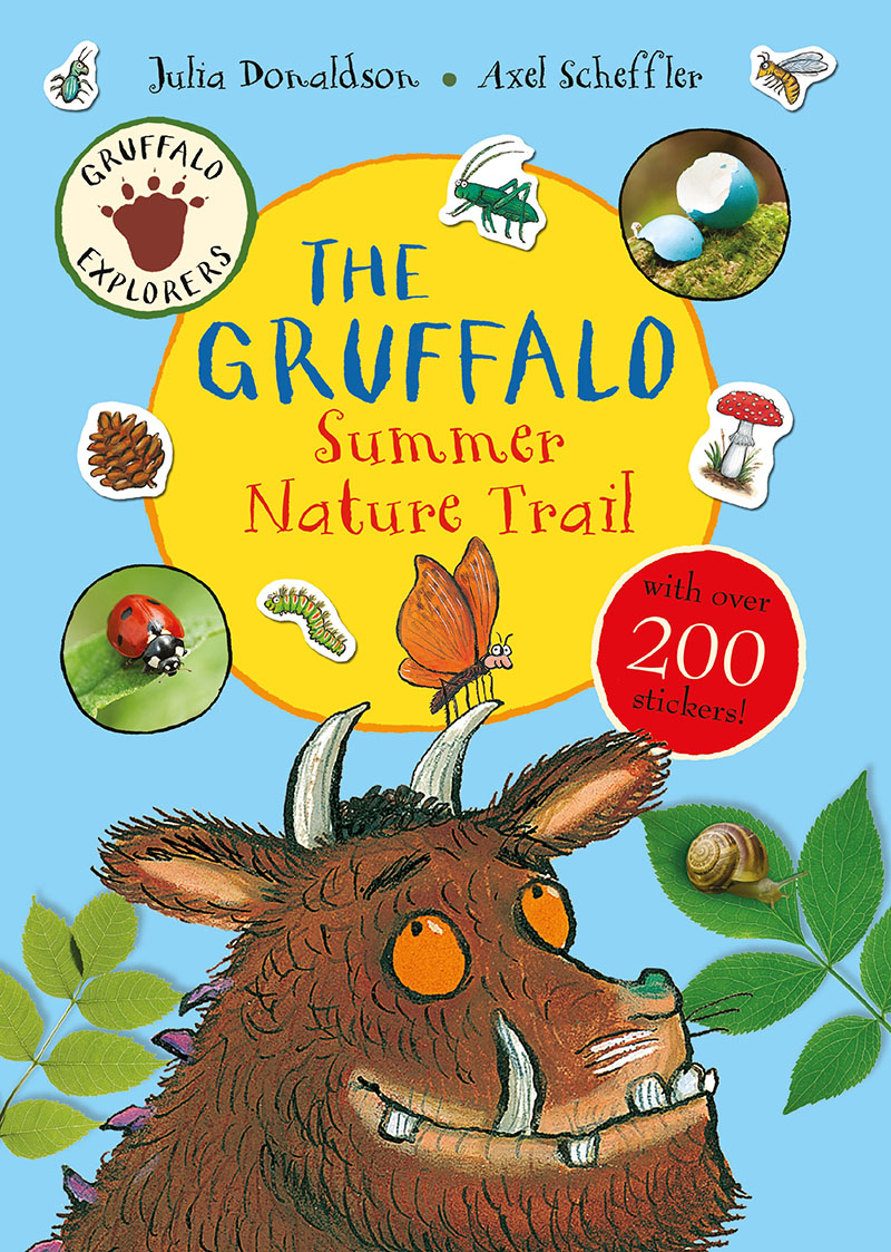 Gruffalo Explorers: The Gruffalo Nature Trail - Jacket