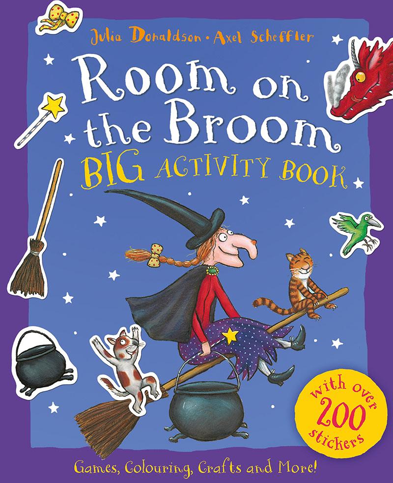 Room on the Broom BIG Activity Book - Jacket