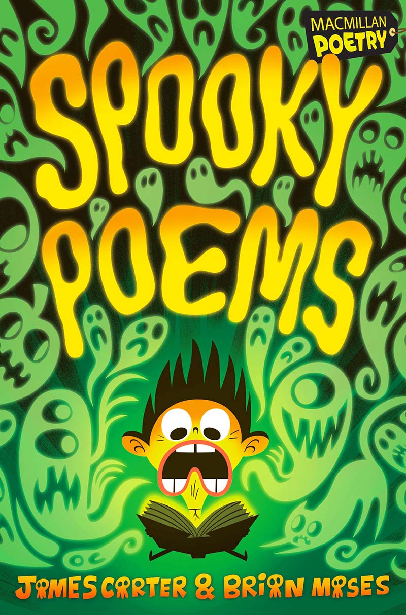 Spooky Poems - Jacket