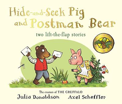 Tales From Acorn Wood: Hide-and-Seek Pig and Postman Bear - Jacket