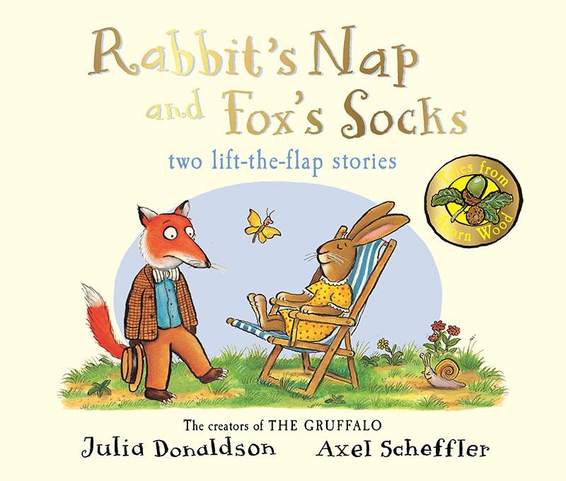 Tales from Acorn Wood: Fox's Socks and Rabbit's Nap - Jacket