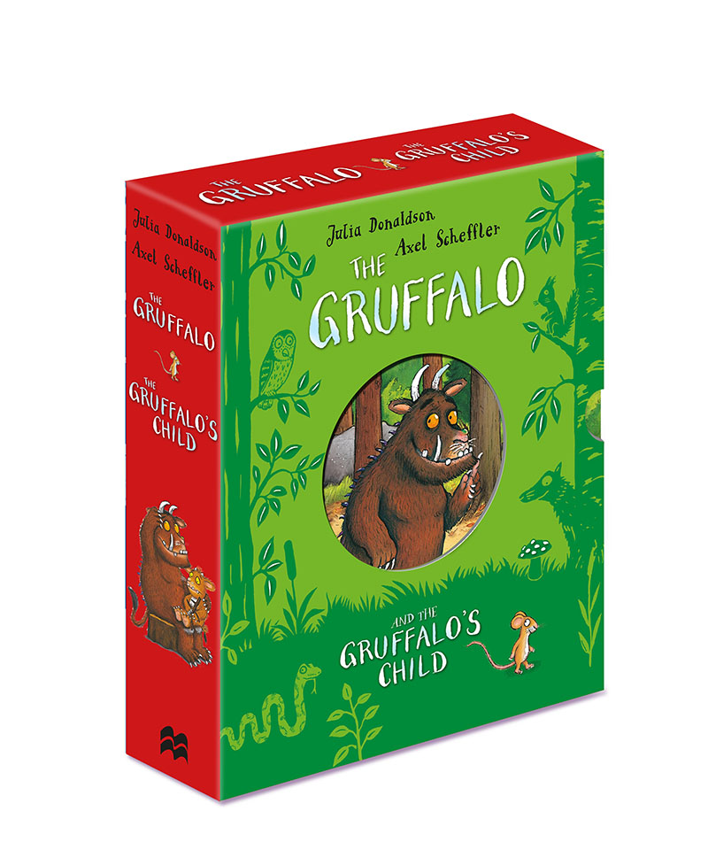 The Gruffalo and the Gruffalo's Child Board Book Gift Slipcase - Jacket