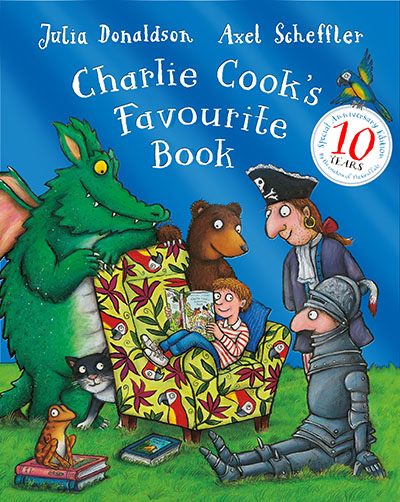 Charlie Cook's Favourite Book 10th Anniversary Edition - Jacket