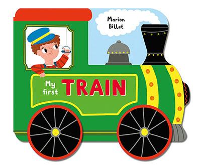 Whizzy Wheels: My First Train - Jacket