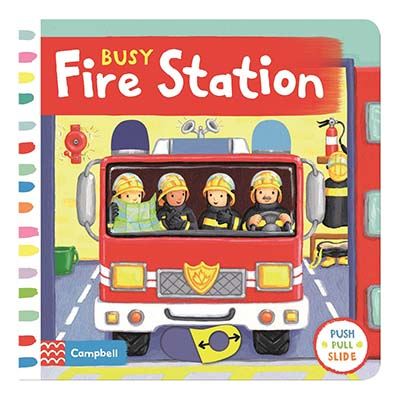 Busy Fire Station - Jacket