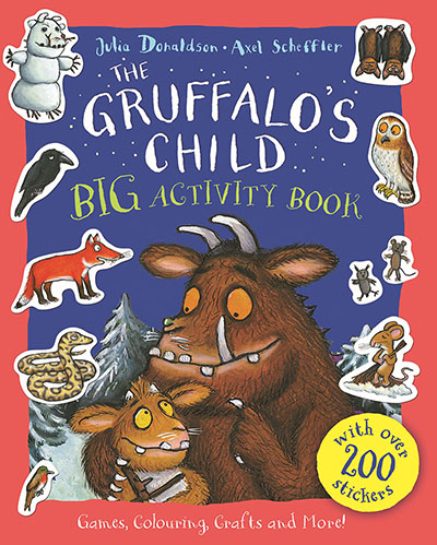 The Gruffalo's Child BIG Activity Book - Jacket