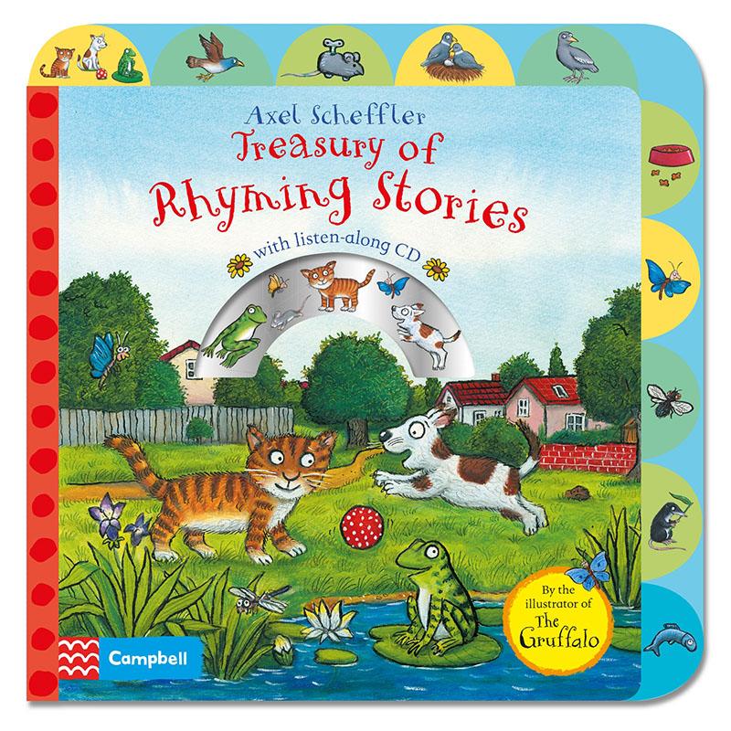 Treasury of Rhyming Stories Book and CD - Jacket