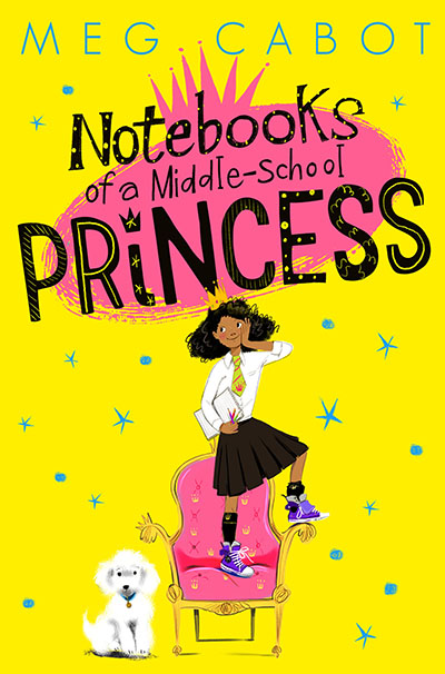 Notebooks of a Middle-School Princess - Jacket