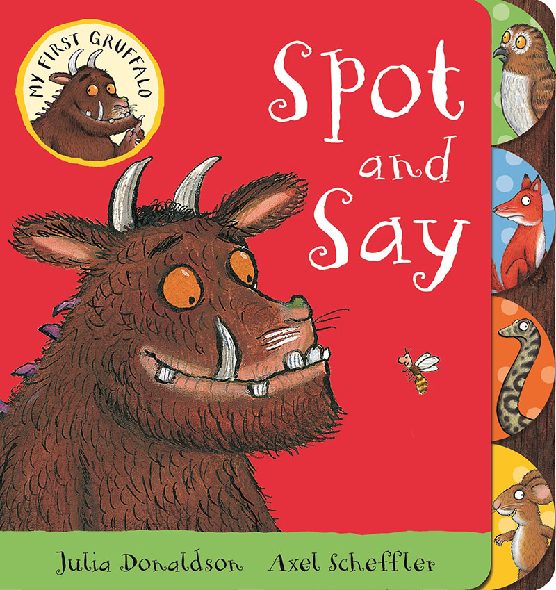 My First Gruffalo: Spot and Say - Jacket