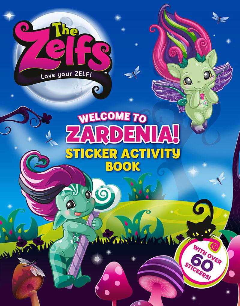 The Zelfs Sticker Book - Jacket
