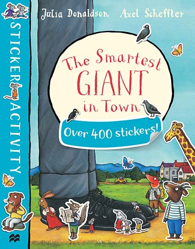 The Smartest Giant in Town Sticker Book - Jacket