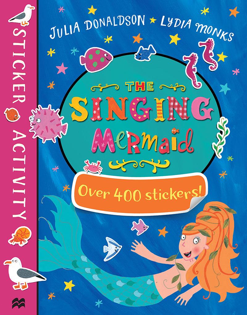 The Singing Mermaid Sticker Book - Jacket