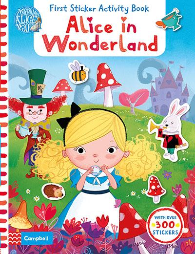 Alice in Wonderland: First Sticker Activity Book - Jacket