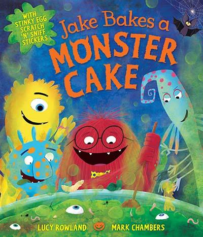 Jake Bakes a Monster Cake - Jacket