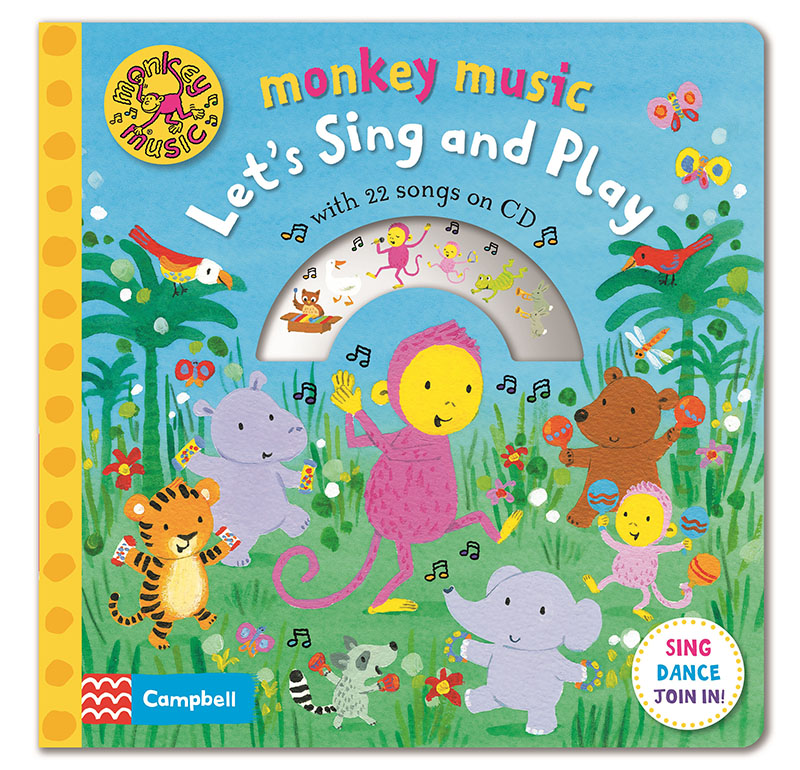 Monkey Music Let's Sing and Play - Jacket