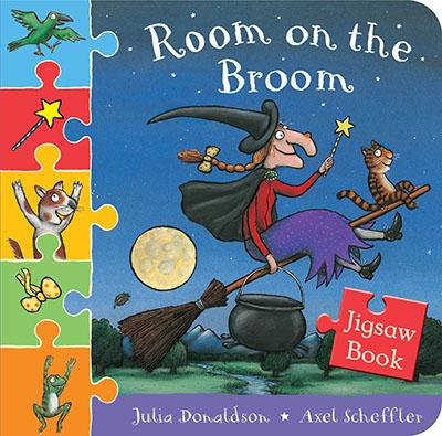 Room on the Broom Jigsaw Book - Jacket