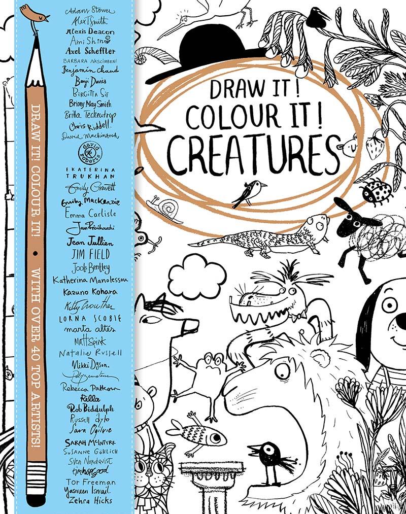Draw it! Colour it! Creatures - Jacket