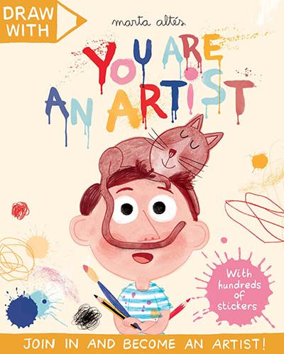 Draw With Marta Altés: You Are an Artist! - Jacket