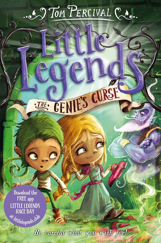 The Genie's Curse - Jacket