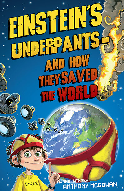 Einstein's Underpants - And How They Saved the World - Jacket