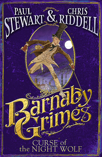Barnaby Grimes: Curse of the Night Wolf - Jacket