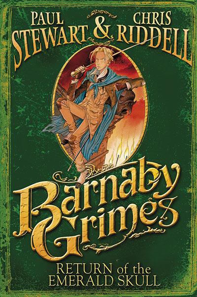 Barnaby Grimes: Return of the Emerald Skull - Jacket