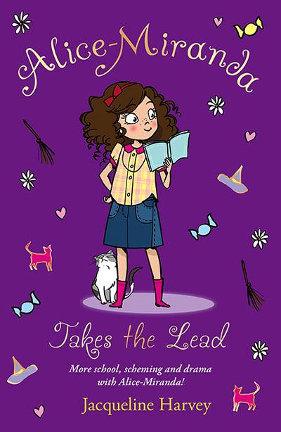 Alice-Miranda Takes the Lead - Jacket