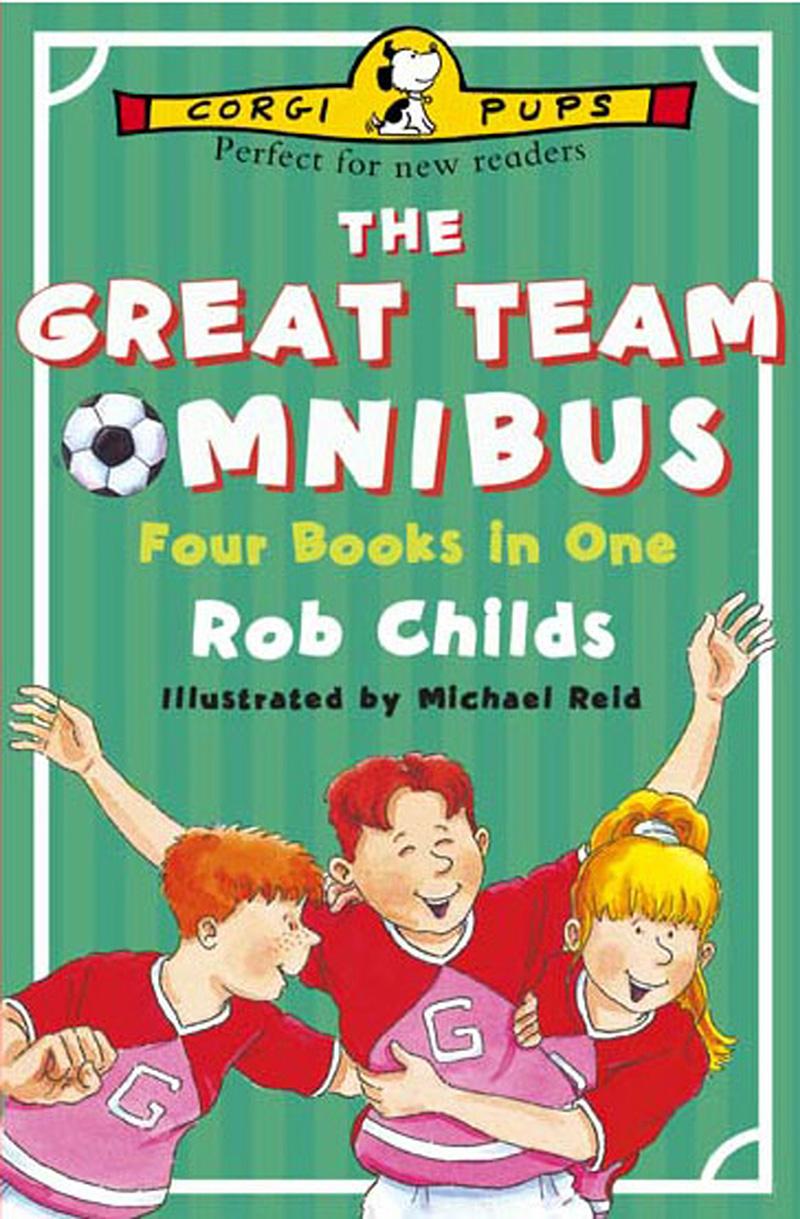The Great Team Omnibus - Jacket