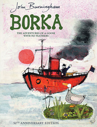 Borka: The Adventures of a Goose With No Feathers - Jacket